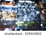 city lights blur. image for... | Shutterstock . vector #529013002