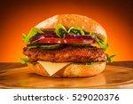 big burger | Shutterstock . vector #529020376