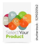 business layout   select your... | Shutterstock .eps vector #529020562