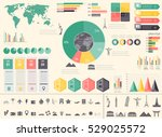 travel and tourism. infographic ... | Shutterstock .eps vector #529025572