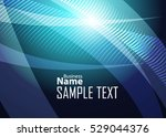 blue abstract template for card ... | Shutterstock .eps vector #529044376