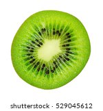 slice of juicy delicious and... | Shutterstock . vector #529045612