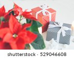 christmas and happy new year...   Shutterstock . vector #529046608