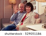 a mid shot of loving couple...   Shutterstock . vector #529051186