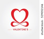 happy valentine's day | Shutterstock .eps vector #529052146