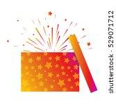 vector illustration of open... | Shutterstock .eps vector #529071712