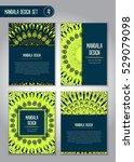 tribal mandala design set.... | Shutterstock .eps vector #529079098