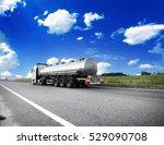 big metal fuel tankers shipping ... | Shutterstock . vector #529090708