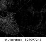 spider web silhouette against... | Shutterstock . vector #529097248