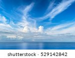 sea and beautiful blue sky | Shutterstock . vector #529142842