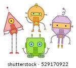 colorful mascot illustration... | Shutterstock .eps vector #529170922