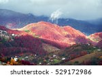 Cold Autumn In Carpathian...