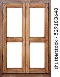 Wooden Window Background