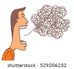 cartoon illustration of... | Shutterstock .eps vector #529206232