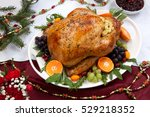 Roasted Herb Rubbed Turkey...
