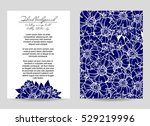 romantic invitation. wedding ... | Shutterstock . vector #529219996