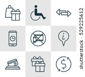 set of 9 airport icons. can be...