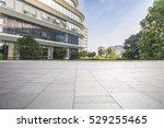 empty floor with modern...   Shutterstock . vector #529255465
