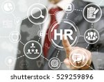 human resource business concept.... | Shutterstock . vector #529259896