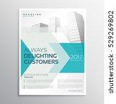 business brochure leaflet... | Shutterstock .eps vector #529269802