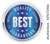 blue best quality badge  ... | Shutterstock .eps vector #529272466