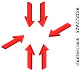 The Red Arrow In Different...
