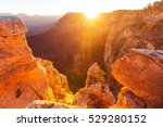 picturesque landscapes of the... | Shutterstock . vector #529280152
