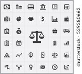 scales icon. bank icons... | Shutterstock . vector #529280662