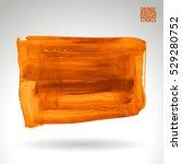 brush stroke and texture.... | Shutterstock .eps vector #529280752