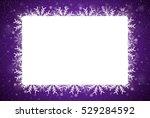 Rectangle Frame Snowflake....