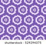 vector seamless pattern. modern ... | Shutterstock .eps vector #529294375