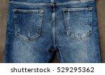 Back Jeans Pocket Wooden...