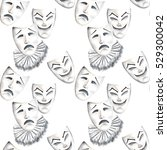 Seamless Pattern With Theater...
