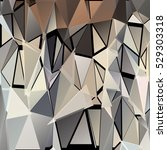 abstract geometric pattern... | Shutterstock .eps vector #529303318