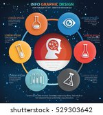 education info graphic design... | Shutterstock .eps vector #529303642