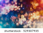 abstract christmas light... | Shutterstock . vector #529307935