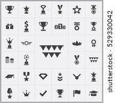 award icons universal set for...   Shutterstock . vector #529330042