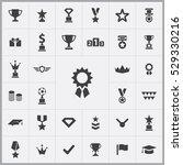 award icons universal set for... | Shutterstock . vector #529330216