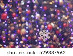 Christmas Tree Lights Blurred...