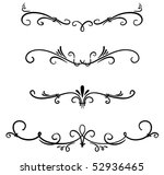 classical decorative elements | Shutterstock .eps vector #52936465