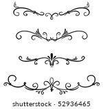 classical decorative elements | Shutterstock .eps vector #52936465