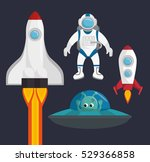universe planets space concept   Shutterstock .eps vector #529366858