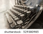 Old Typewriter In Antique...