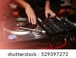party dj play music at hip hop... | Shutterstock . vector #529397272