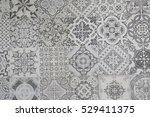 ceramic tiles patterns | Shutterstock . vector #529411375