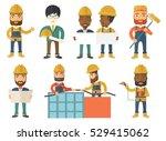 engineer in helmet watching a...   Shutterstock .eps vector #529415062