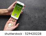 modern technology and online...   Shutterstock . vector #529420228