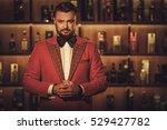 extravagant stylish man in... | Shutterstock . vector #529427782