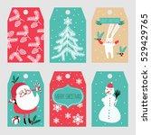 christmas labels   Shutterstock .eps vector #529429765