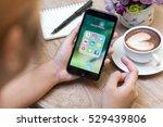chiang mai  thailand   november ... | Shutterstock . vector #529439806